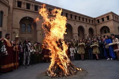 Celebration of Tiarn'ndaraj in Yerevan, Armenia - Photolure News Agency