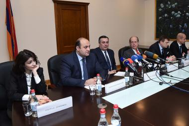 A press conference ahead of the 'International exhibitions of contemporary art: Armenia 2018' took place at the RA Ministry of Culture - Photolure News Agency