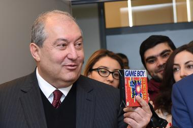 RA presidential candidate Armen Sargsyan paid a visit to Synopsys Armenia Office - Photolure News Agency
