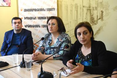 A public discussion on the topic of the 'Extreme poverty and malnutrition' took place in 'Article 3' press club - Photolure News Agency