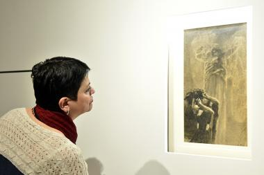 The opening of the 'Return of Stolen Wrubel' exhibition took place at the Russian Museum of Art - Photolure News Agency