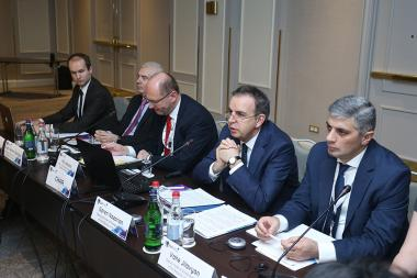 The 14th session of the Eastern Partnership Democracy under the title of 'Democracy, Good Governance and Sustainability' took place at Armenia Marriott Hotel - Photolure News Agency