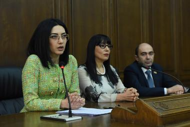 А press conference of the RA NA Armenia-US Friendship Group took place at the RA National Assembly - Photolure News Agency
