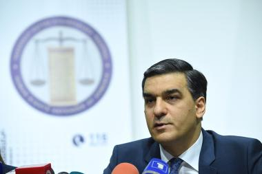 RA Human Rights Defender Arman Tatoyan gave a press conference at the AGBU Armenia Hall - Photolure News Agency