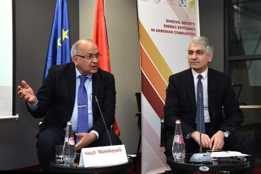 A conference under the title of 'Energy Efficiency in Communities of Armenia' which aims to launch the EU-funded 'EU Civil Society: Energy Efficiency in Armenian Communities (EU4CS.EEAC)' took place at Opera Suite Hotel - Photolure News Agency