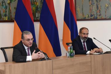 RA Prime Minister Nikol Pashinyan presented newly appointed Minister of Foreign Affairs of Armenia Zohrab Mnatsakanyan - Photolure News Agency