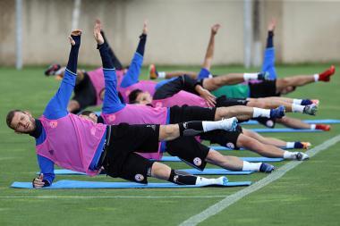 Open training of the Armenia national football team took place at the Football Academy - Photolure News Agency