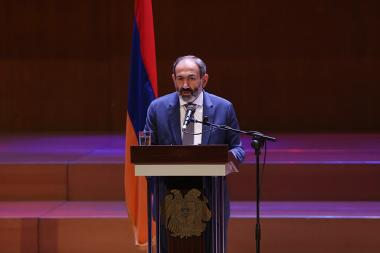 RA Prime Minister Nikol Pashinyan met the cultural figures at the Aram Khachaturian Concert Hall - Photolure News Agency