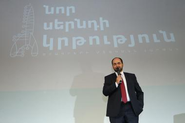 A discussion with the RA Minister of Education and Science Arayik Harutyunyan on the topic of the new educational methodology in Armenia took place at TUMO Creative Center - Photolure News Agency