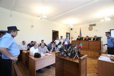 Hearings of Jirair Sefilian's and Gevorg Safaryan's cases took place at the Court of Appeal of Yerevan, Armenia - Photolure News Agency