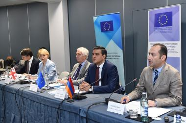 A round table discussion on the topic of 'The situation of human rights protection in the places of deprivation ' took place at the DoubleTree by Hilton Hotel - Photolure News Agency