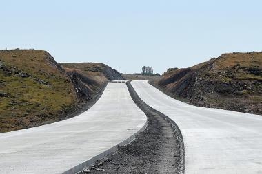 A visit was paid to the Ashtarak-Talin, Talin-Lanjik and Lanjik-Gyumri road sections of the North-South Road Corridor - Photolure News Agency