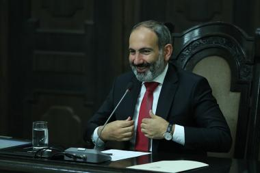 RA Prime Minister Nikol Pashinyan gave a press conference at the RA Government - Photolure News Agency