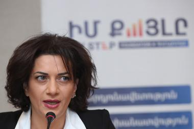 RA Prime Minister's wife Anna Hakobyan gave a press conference at the Armenia Marriott Hotel - Photolure News Agency