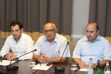 A press conference of the initiative group created for the establishment of the Christian Democratic Party of Armenia took place at the Armenia Marriott Hotel - Photolure News Agency