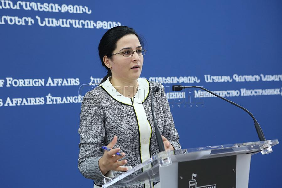"""Armenia """"takes note"""" of U.S. reaction to Syria humanitarian mission – Foreign Ministry"""