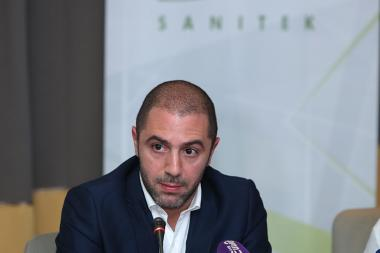 CEO of 'Sanitek' Company Nicholas Tawi gave a press conference at the Armenia Marriott Hotel - Photolure News Agency