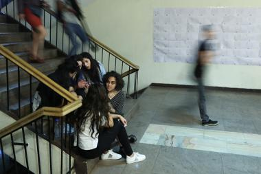 Students of the Yerevan State University of Theatre and Cinematography went on a strike - Photolure News Agency