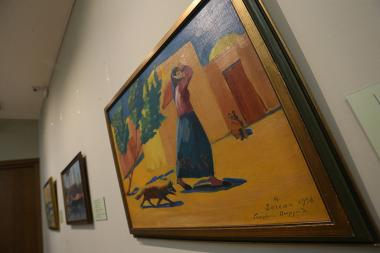 An exhibition entitled 'Saryan and France' opened within the frameworks of Francophonie events at the Martiros Saryan House-Museum - Photolure News Agency