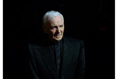 94-year-old famous chansonier Charles Aznavour passed away on 1st of October, 2018 - Photolure News Agency