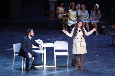 Premiere of Jules Massenet's 'Manon' opera took place within the framework of the Francophonie Summit 2018 at the National Academic Opera and Ballet Theatre named after Al. Spendiaryan - Photolure News Agency