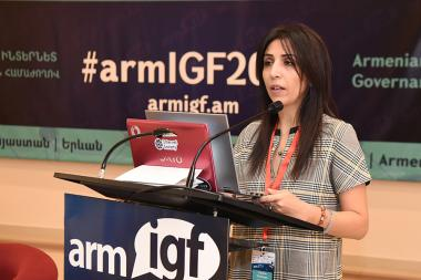 The Internet Governance Committee of Armenia and the Internet Society Public Organization announced the launch of the 4th Armenian Internet Governance Forum 'ArmIGF 2018' at Ani Plaza Hotel - Photolure News Agency