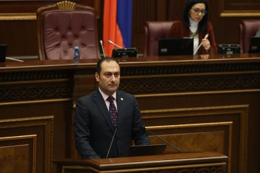 RA National Assembly extraordinary session took place with the following agenda: Declaration on amnesty in criminal cases on the occasion of the 2800th anniversary of the establishment of Erebuni-Yerevan and the 100th anniversary of the independence of the First Republic of Armenia - Photolure News Agency