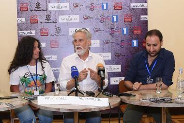A press conference dedicated to the launch of the 13th International Shakespeare Theater Festival took place at the State Theatre Of Musical Comedy after H. Paronyan - Photolure News Agency