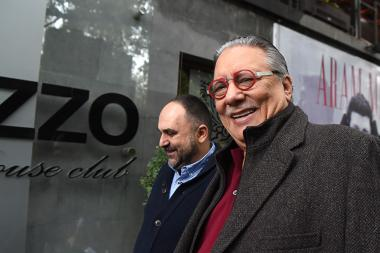 Renowned musician Arturo Sandoval, head of the Armenian Jazz Association Kamo Movsesyan, head of the Armenian State Jazz Orchestra Armen Hyusnunts and journalist Armen Manukyan gave a press conference at Mezzo Music Club - Photolure News Agency
