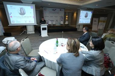 The Second Annual Management and Leadership Conference organized by IAB International Academy of Business with the support of the British Embassy and British Council has launched at the Armenia Marriott Hotel - Photolure News Agency