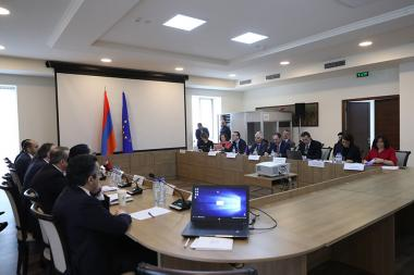 The first meeting of European Union- Armenia Partnership Committee took place at the RA Ministry of Foreign Affairs - Photolure News Agency