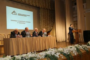 The fourth congress of the Union of Builders of Armenia took place at the Arno Babajanyan Concert Hall - Photolure News Agency