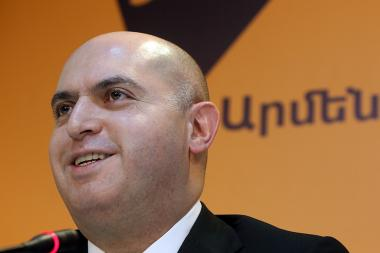 MP Armen Ashotyan spoke about the pre-election events during a press conference at the Sputnik-Armenia press center in Yerevan, Armenia - Photolure News Agency
