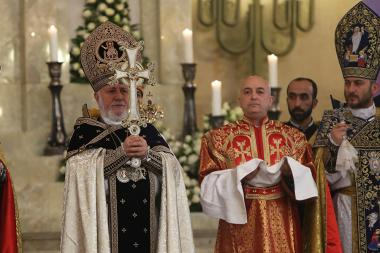 Christmas Divine Liturgy was servedat the Saint Gregory the Illuminator Church - Photolure News Agency