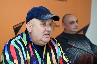 Founder of 'Jambo' exotic park Artyom Vardanyan gave a press conference at the Sputnik Armenia press center - Photolure News Agency