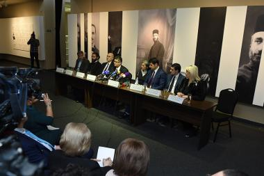 A press conference dedicated to the opening of the jubilee year of Komitas's 150th anniversary took place at the Komitas Museum-Institute - Photolure News Agency