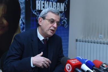 Former chairman of the NA Standing Committee on Financial-Credit and Budgetary Affairs Gagik Minasyan is guest in Henaran press club - Photolure News Agency