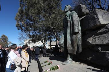 Festive events dedicated to the 150th anniversary of Hovhannes Tumanyan took place in Dsegh village of Lori Province, Armenia - Photolure News Agency