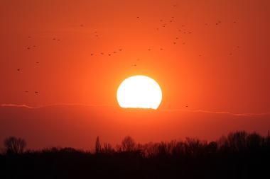 Sunset in Yerevan, Armenia - Photolure News Agency