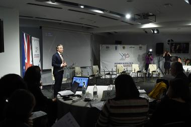 Launch of the 'Women in Politics' program initiated by the UNDP Armenia, Ministry of Territorial Administration and Development and 'OxYGen' Foundation took place at Double Tree by Hilton Hotel - Photolure News Agency