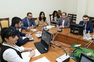 RA NA Standing Committee on Protection of Human Rights and Public Affairs holds a working discussion with the participation of RA Minister of Healthcare Arsen Torosyan at the RA National Assembly - Photolure News Agency