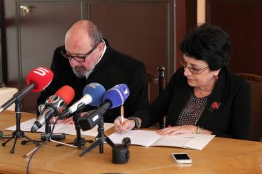 A memorandum of cooperation was signed between the Yerevan State Institute of Theater and Cinema and the Union of Cinematographers of Armenia - Photolure News Agency