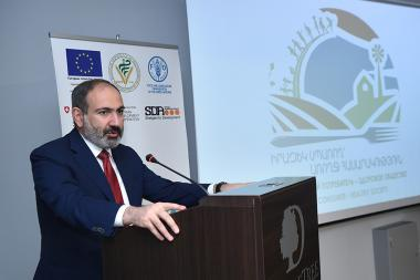 RA Prime Minister Nikol Pashinyan attended the 'Aware consumer, healthy society' event at DoubleTree by Hilton Hotel - Photolure News Agency