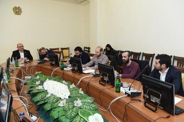 RA NA Standing Committee on Science, Education, Culture, Diaspora, Youth and Sport holds a meeting with the cultural figures of Armenia at the RA National Assembly - Photolure News Agency