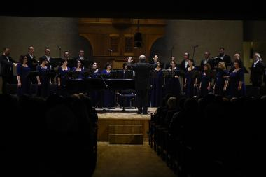 A concert dedicated to the 80th anniversary of the Armenian composer Tigran Mansuryan took place at the Komitas Chamber Music Hall of Yerevan, Armenia - Photolure News Agency