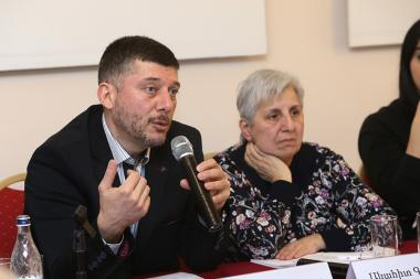 A public discussion on the topic of 'The neglect of the rights of older people and the problem of indifference' took place at Ani Plaza Hotel - Photolure News Agency
