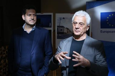 'Ballet 2012' foundation presented the 'Kharatyan Experimental Center for Performing Arts, Gyumri' project at Alexander Hotel in Yerevan, Armenia - Photolure News Agency