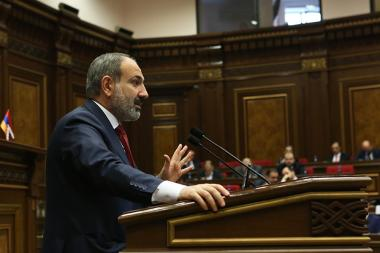 RA Prime Minister Nikol Pashinyan holds a speech at the RA National Assembly - Photolure News Agency