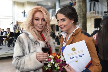Theatre Awards ceremony initiated by the RA Ministry of Culture took place at the Gabriel Sundukyan National Academic Theatre of Yerevan, Armenia - Photolure News Agency