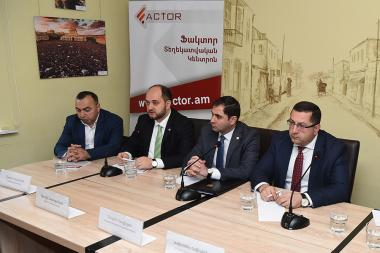 A discussion on the topic of the 'Educational Problems in Old Villages of New Armenia' took place in 'Article 3' press club - Photolure News Agency